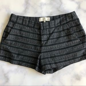 Joie Merci Woven Short in Caviar Black